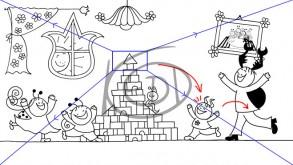 Hogyan készül a storyboard és a háttér?