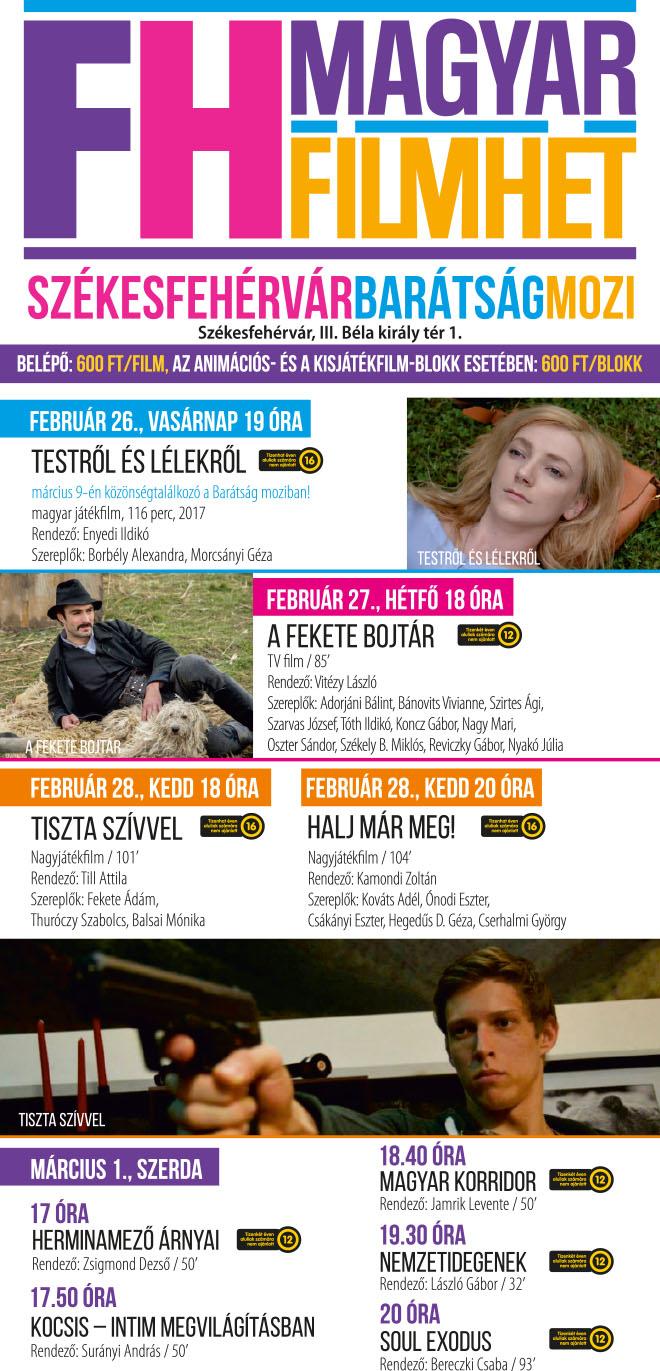 Magyar Filmhét a Barátság moziban