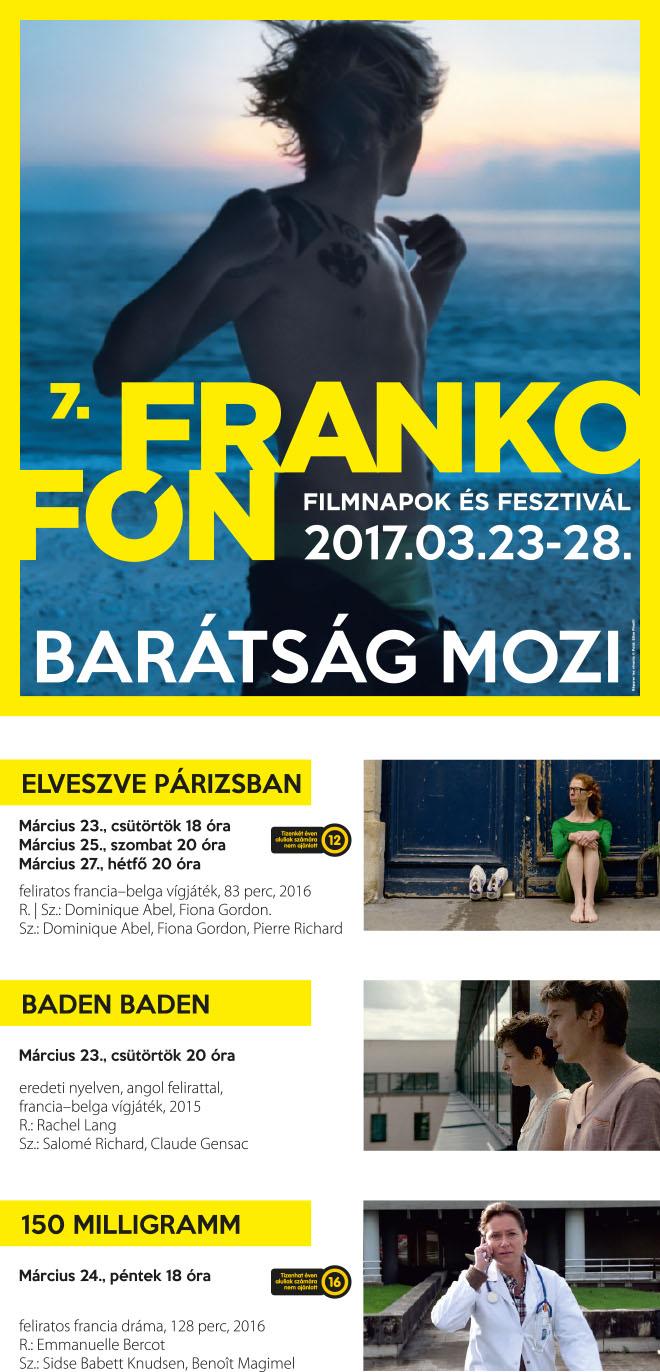 7. Frankofón Filmnapok